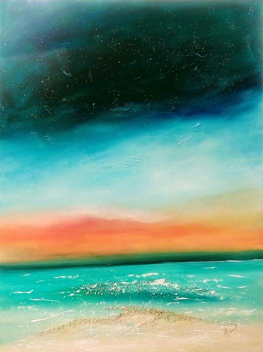 TURNING NIGHT into DAY 101 x 76 cm £695