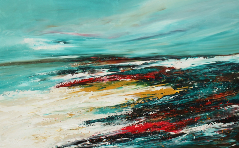 I Hear the Ocean 122 x 76 cm £800