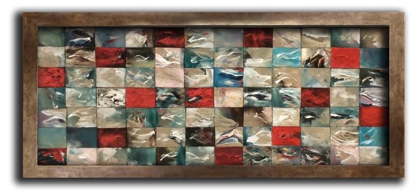 Echoes of the Sea Mikro-Compo II 105 x 46 cm £750
