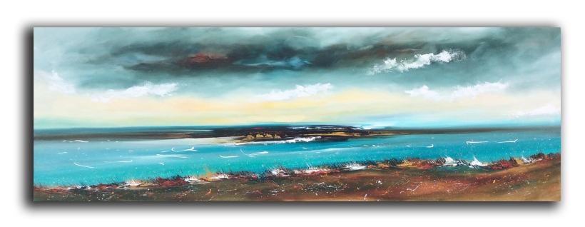 Coastline of Hope 181 x 61 cm £900