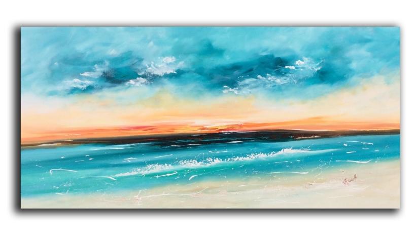 Crystal Seas 122 x 61 cm £750