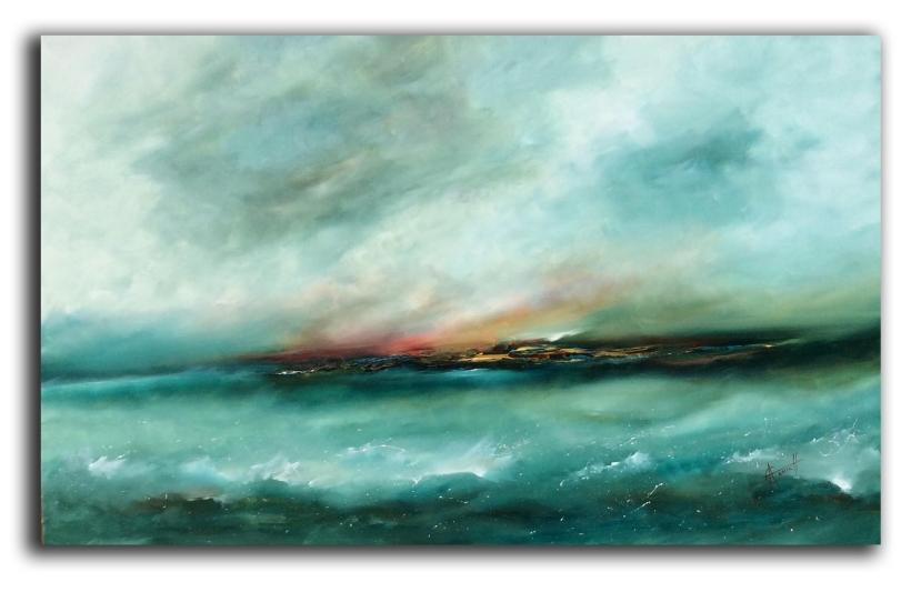 Emerald Seas 122 x 76 cm £800