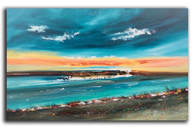 Ethereal Sunrise 122 x 76 cm £800