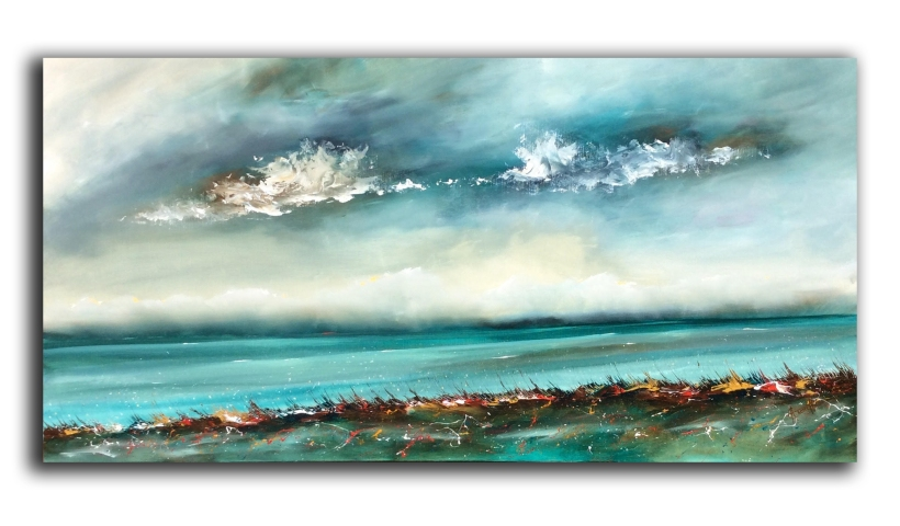 Peace by the Sea 122 x 61 cm £750