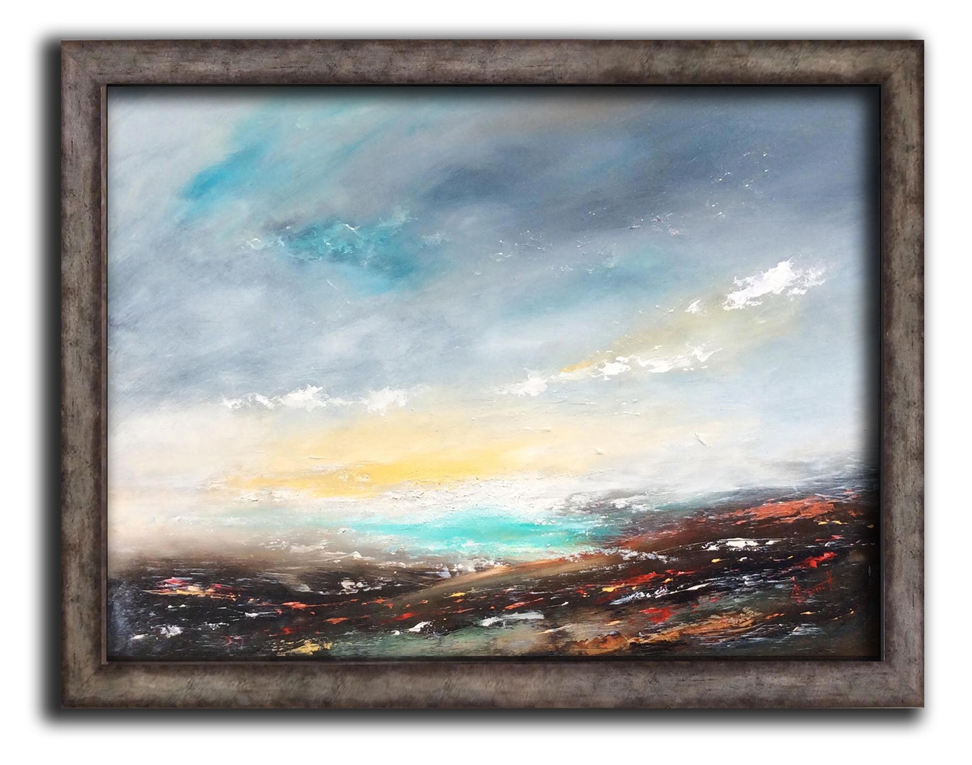 Azure Dawn 88 x 68 cm £700