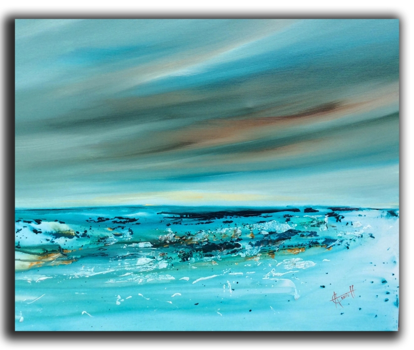 Reanquil Dawn I 76 x 61 cm £550
